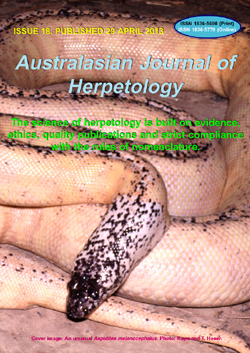 Australasian Journal of Herpetology