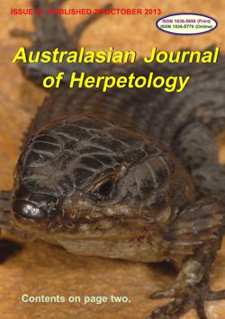 Australasian Journal of Herpetology