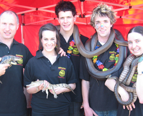 Educational reptile displays in Melbourne, Victoria, Australia
