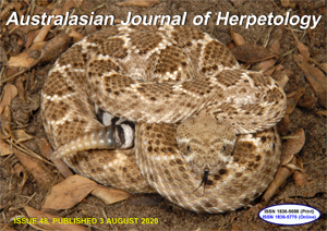 Australasian Journal of Herpetology Issue 48